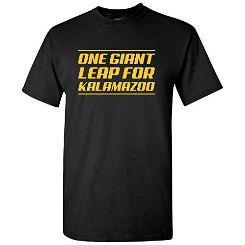 One Giant Leap for Kalamazoo - Sports College City Pride Alumni Team T Shirt - X-Large - -