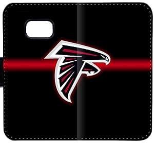 Atlanta Falcons Logotipo D8N1P Funda Samsung Galaxy Note 5 caja de cuero funda de plástico IG78b8 funda caja del teléfono celular del tirón para niñas