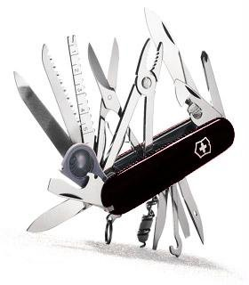 Victorinox Swiss Army SwissChamp Pocket Knife