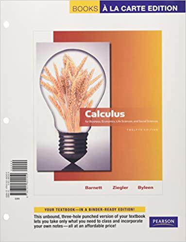 Calculus for business economics life sciences and social sciences calculus for business economics life sciences and social sciences books a la carte edition 12th edition 12th edition fandeluxe Choice Image