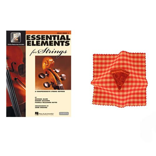 Essential Elements for Strings Cello Book 1 - with BONUS Pizza Rosin (Parts Essential)