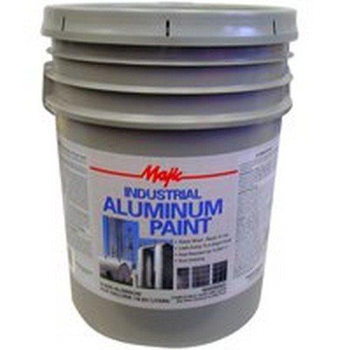 YENKIN MAJESTIC PAINT 8-0025-5 5 gallon Industrial Aluminum Paint