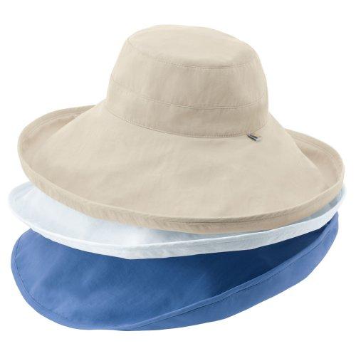 Solumbra Ultra-Wide Rolled Brim Hat - 100+ SPF Sun Protective ... daafff0693a