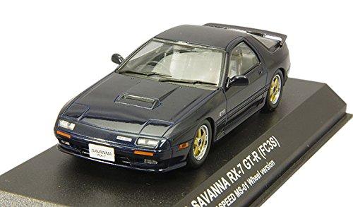 1/43 マツダ サバンナ RX-7(FC3S)GT-R マツダ スピードホイール(ブレイヴブルー) KS03302BL