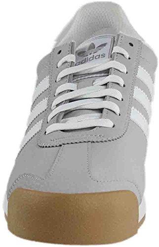 Adidas Samoa Lys Massivt Grå / Hvid / Sølv Metallic nICbJI8AHt