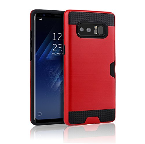 Anti-knock Shockproof Armor Case for Samsung Galaxy Note 5 Red - 4