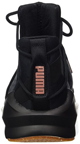 Puma Women's Fierce Rope Vr Fitness Shoes, White, 4.5 UK Black (Black-whisper White 02)