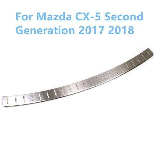per CX-5 CX5 2017 2018 Esterno in acciaio INOX, piastra di protezione paraurti cover Trim 1PCS YUZHONGTIAN Auto Trims Co. Ltd