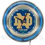 Notre Dame Fighting Irish NCAA Deluxe Neon Clock