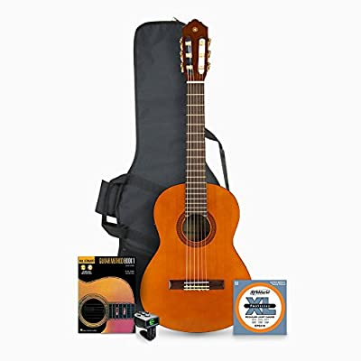 Yamaha CGS102A 1/2-Size Classical Guitar with Accessories Bundle