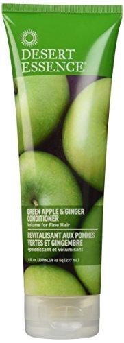 Desert Essence - Green Apple & Ginger Thickening Conditioner, 8 oz cream