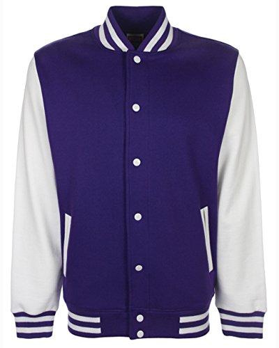 Veste Medium Homme White purple FDM qCvxdq