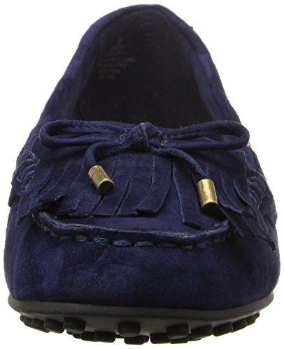Nine West Women's Westby Suede Moccasin Navy p5o5jTEeh