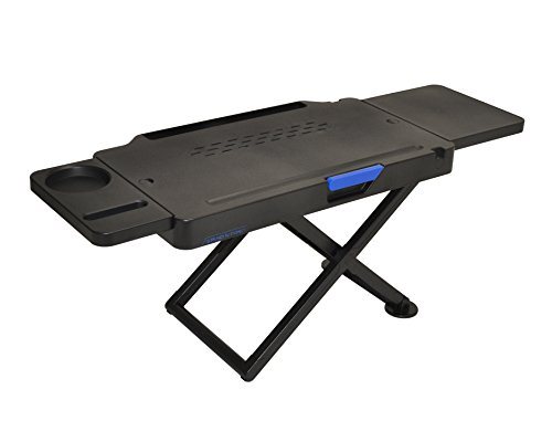 Stand N Type SNTB-MC4 - Adjustable Height Standing Desk, Black