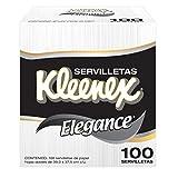 Kleenex Servilletas de Lujo Elegance, 100 Piezas