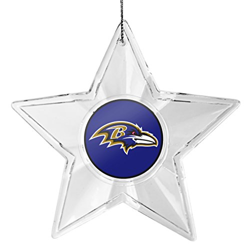 NFL Baltimore Ravens Star Ornament