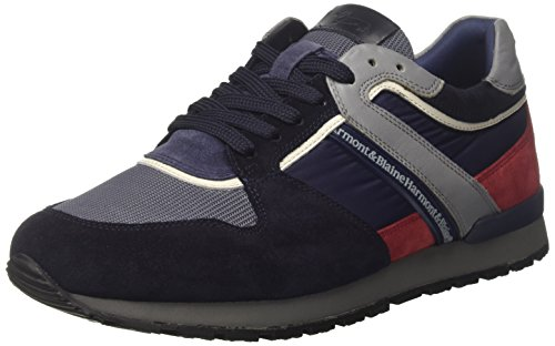 Harmont & Blaine E9095668, Sneaker a Collo Basso Uomo Blu (Navy)