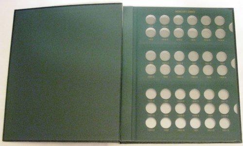 Mercury Dimes 1916 - 1945 Coin Album (The Coin Collector)