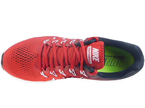 NIKE Men's Air Zoom Pegasus 33, University Red/White - Black university red white 601