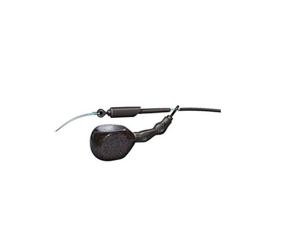 NewShot 10x Run Rig Rubber Sleeve with 10x Big Eye Swivel Connector Carp Fishing