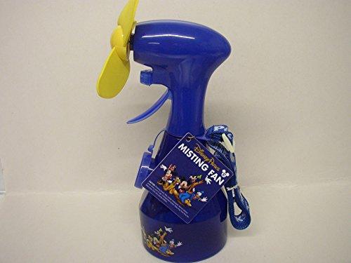 Disney Water Parks - Disney Parks Misting Fan Spray Water Bottle w/Lanyard