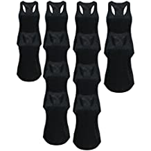 Tough Cookie's Women's Burnout Tank Top Wholesale 6-Pack and 12-Pack (Small-XL)