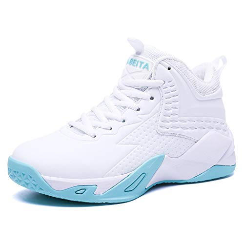 5ee3a9f0604a9 BEITA Girls' Basketball Shoes, Professional Basketball Shoes for Boys  Childrens Big Kids' Grade School Teen Boy Athletic Sneakers White