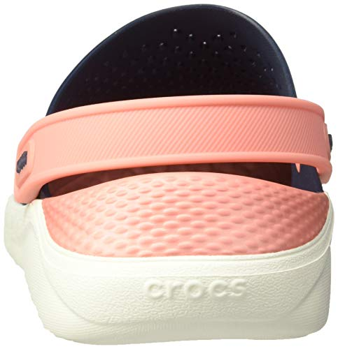 Adulto Zuecos melon Unisex navy Azul Crocs 4jg Clog Literide U xOnxBXq