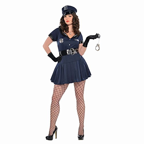 Womens Officer Rita Dem Rites Costume Plus (18-20)