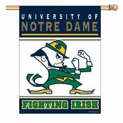 Notre Dame Fighting Irish Banner (27 in. x 37 in.)