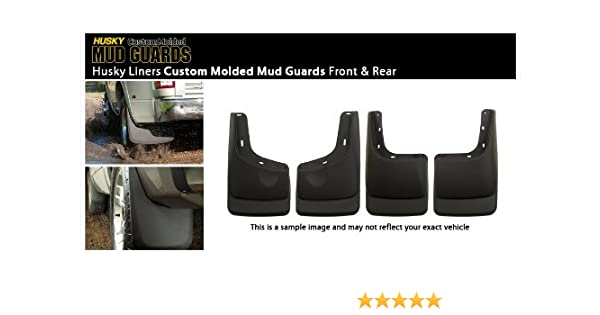 Husky Liners Rear Mud Guards Fits 04-12 Colorado//Canyon w//o Flares