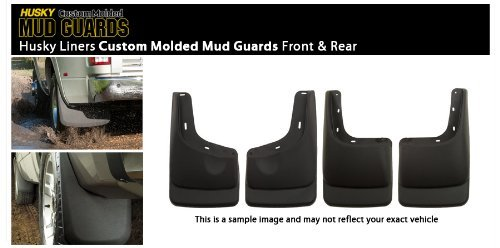 06 - 10 Hummer H3 Husky Custom Molded Splash Guard Mud Flap - Front & Rear