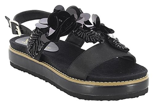 Sandales Noir negro Piamonte Femme Plateforme Bay 002 Koala wEAqpTp