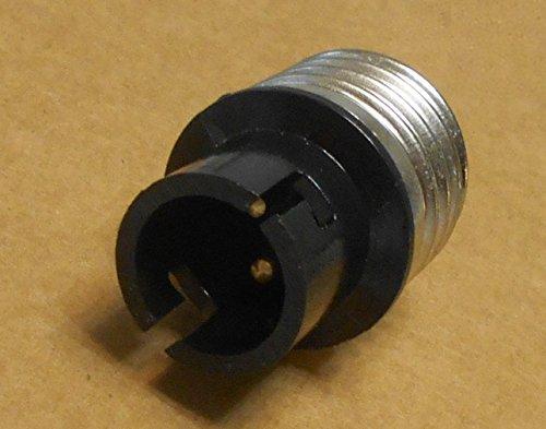 E26 MEDIUM to 2 Pin BAYONET BA15D Base Light Bulb Socket ...