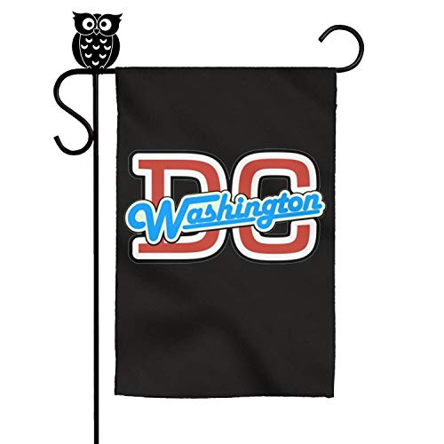 - ZhongQi Washington D.C Logo Garden Flags Yard Flags Outdoor Flags House Flag 12x18 Inch