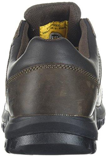 Caterpillar Mens Extension Steel Toe Industrial Shoe Brown