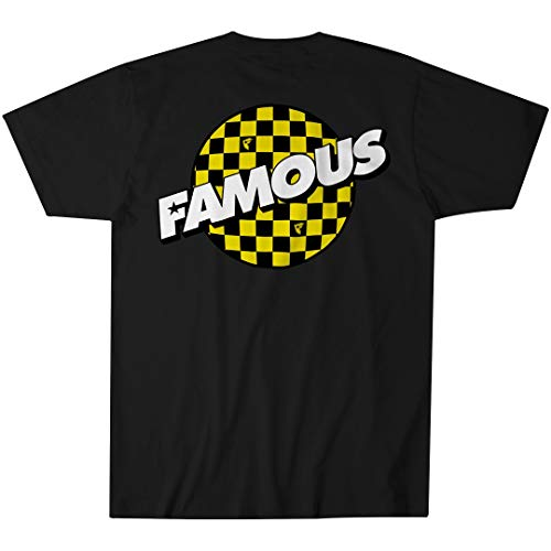 Famous Stars and Straps Checker Dot Men's Tee]()