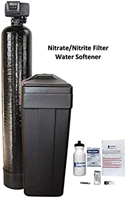 Afwfilters Nt 1054 56sxt 33 14 Black Afw Built Nitrate Nitrite Filter Water Softener 1 5 Cu Ft 33 67 Resin Blend With Fleck 5600sxt 14 Square Brine Tank Amazon Com