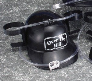 Forum Novelties Over The Hill Drinking Helmet with Straws