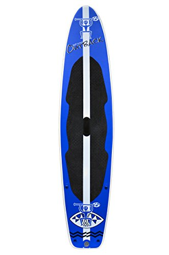outback inflatable stand paddle board