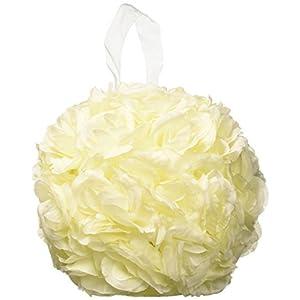 "Darice 44693-WHT 10"" Everyday Kissing Ball White 35"