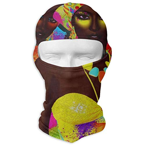 Balaclava African Women Full Face Masks UV Protection Ski Hat Cap Motorcycle Hood for Cycling Women Men
