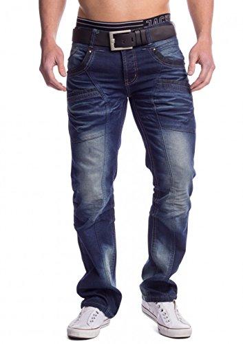 Herren Loose Fit Jeans Alpa ID1483, Farben:Dunkelblau;Größe Jeans / Hosen NEU:W36