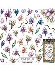 Catwalk Premium Peel-N-Stick Nail Stickers (Garden (Cats Peel)