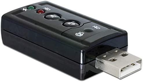 DeLOCK 63926 Tarjeta de Audio 7.1 Canales USB - Tarjeta de ...