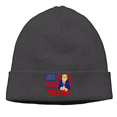 Unisex Trump For President 85% Cotton Beanies Black