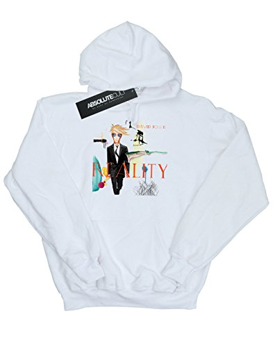 Hoodie Album Bowie Absolute Blanco Cult Man Reality David Cover fq0ZwqRC