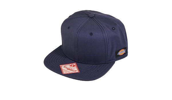 Dickies Mens Solid Navy Blue Adjustable Snapback Gorra De Béisbol ...