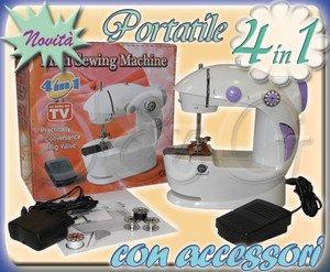 Opinioni per mini macchina da cucire portatile da viaggio for Macchina da cucire da viaggio