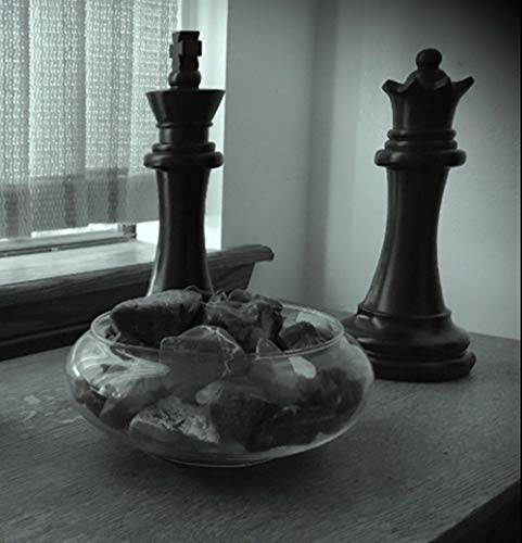 Chess Piece Statues Black King & Queen Over 11INCHS Tall (Queen Chess King)